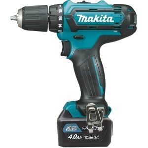 Makita DF331DSMJ - Perceuse visseuse 10,8 V Li-Ion 4 Ah CXT Ø 10 mm