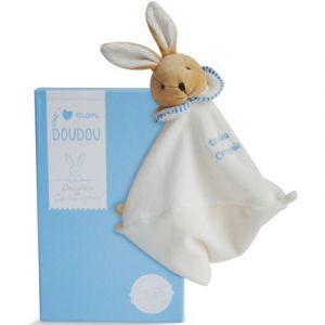 Doudou & cie Doudou l'original lapin bleu