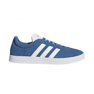 Adidas VL Court 2.0, Chaussures de Fitness Homme, Bleu (Azretr/Ftwbla/Negbas 000), 42 EU