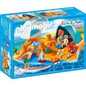 Playmobil 9425 - Famille de vacanciers et tente