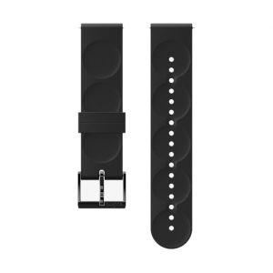 Suunto Pièces détachées Urban 1 Silicone 20mm S Strap - All Black - Taille One Size