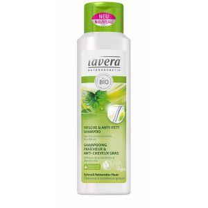 Lavera Shampooing fraîcheur & anti-cheveux gras