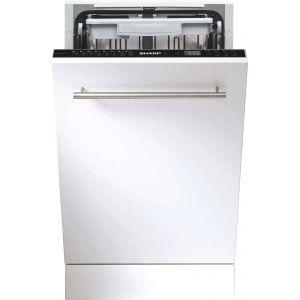 Sharp QWGS53I443X - Lave-vaisselle intégrable 10 couverts