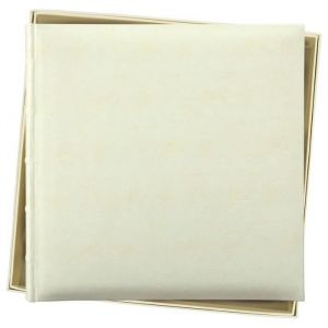 Album photo en coffret 60 pages - 36x36 cm - Album photo - Traditionnel - en coffret - 60 pages - 36x36 cm - Synthétique blanc