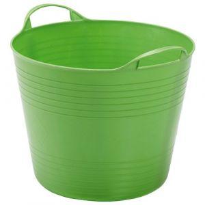 Progarden Panier empilable Basket 43 L - vert - Baquet, Bassine, Corbeille