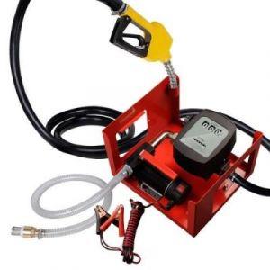 Varan Motors Pompe à fuel ou gasoil auto-amorçante, 12V 40l/min - 150W - Pistolet à Blocage automatique