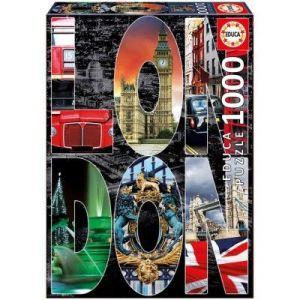 Educa Londres Collage - Puzzle 1000 pièces