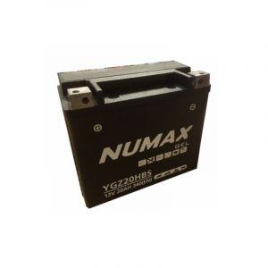 Numax Batterie moto Supreme GEL Harley YGZ20H-BS 12V 20Ah 340A