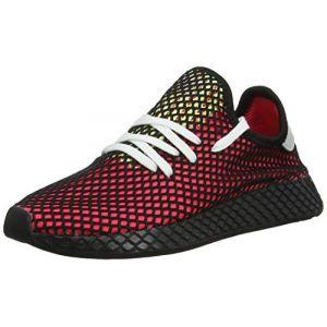 Adidas Deerupt Runner chaussures rouge noir T. 41 1/3