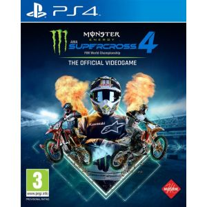 Monster Energy Supercross - The Official Videogame 4 (PS4) [PS4]