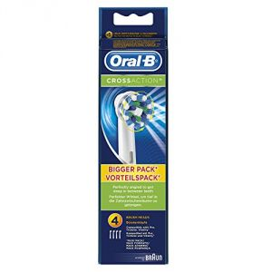 Oral-B 4 brossettes de remplacement CrossAction