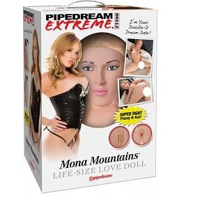 Pipedream Mona Mountains Love Doll -