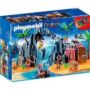 Playmobil 6679 Pirates - Repaire pirates des ténèbres