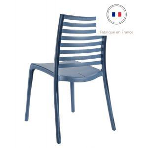 Grosfillex Chaise de Jardin Sunday Bleu Denim