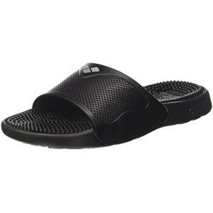 Arena Marco X Grip Hook, Chaussures de Plage et Piscine Homme, Noir (Solid Black 046), 43 EU