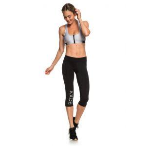 Roxy Spy Game - Legging de sport 3/4 pour Femme - Noir