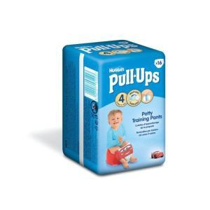 Huggies Pull-Ups taille 4 (8-15 kg) - 16 couches culottes