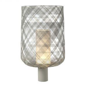 Forestier Lampe à poser Antenna en fil de fer tissé avec diffuseur en tissu (65.2 cm)