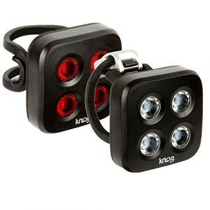 Knog Twinpack Blinder Mob Four Eyes Kit d'éclairage Noir