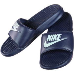 Nike Claquette Benassi - Bleu - Taille 46 - Homme