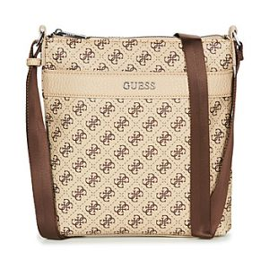 Guess Sacoche CITY LOGO CROSSBODY Beige - Taille Unique