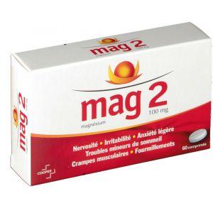 Cooper Mag 2 - Magnésium 100 mg (60 comprimés)