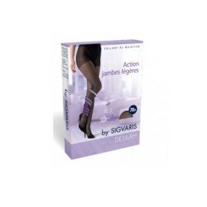 Sonalto SIGVARIS DELILAH Collant de maintien 70D Transparent Couleur - Marine, Taille - Taille 4