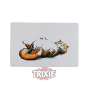 Image de Trixie Like - Set de table imprimé gros chat