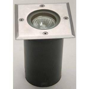 Lutec Spot carré à encastrer GU10 Berlin ECO-Light