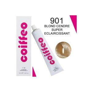 Coiffeo 901 Blond cendré super eclaircissant - Coloration professionnelle
