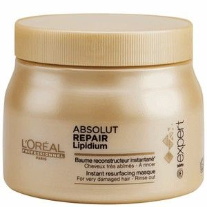 L'Oréal Absolut Repair Lipidium - Baume reconstructeur instantané - 500 ml