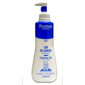 Mustela Lait de toilette visage et siège - 500 ml