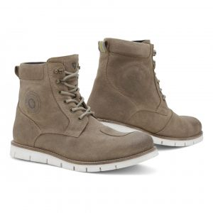 Rev it Chaussures moto Rev'it Ginza 2 taupe/blanc - 39