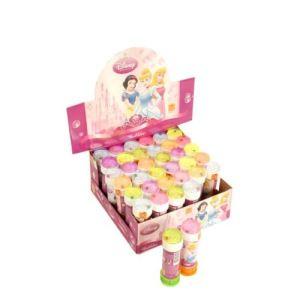 36 tubes pour bulles de savon Disney Princesses