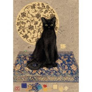 Heye Crowther, Black Cat - Puzzle 1000 pièces