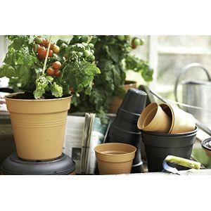 Elho Pot 30cm Green Basics coloris terre cuite