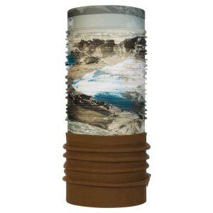 Buff Tours de cou -- Mountain Collection Polar - Dolomiti Sand / Tundra Khaki - Taille One Size