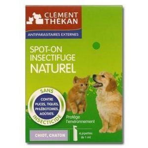 Clément Thékan Spot-On insectifuge naturel pour chiot et chaton
