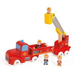 Janod Camion de pompiers géant Story