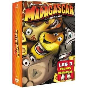 Coffret Madagascar - La Trilogie