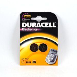 Duracell CR2016 - Blister de 2 pile lithium 3V