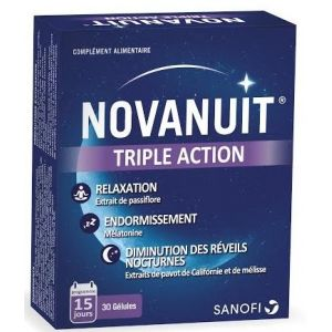 Sanofi Novanuit - Triple action