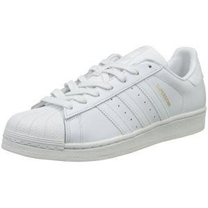 Adidas Superstar Homme, Blanc (Balcri/Veruni / Negbás 000), 45 1/3 EU