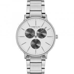 Kenneth Cole Men's Casual watch KC14946007 Black White Multi Stainless-Steel Quartz Fashion Watch