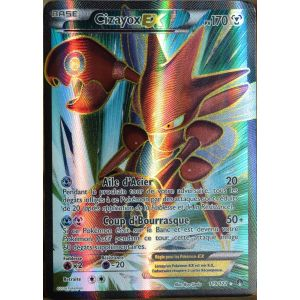 Asmodée Cizayox Ex - Carte Pokémon Ultra Rare Full Art XY Rupture Turbo
