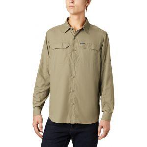 Columbia Silver Ridge 2.0 Chemise manches longues Homme, sage S T-shirts techniques