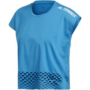 Adidas Terrex Agravic All-Around W vêtement running femme Bleu - Taille S