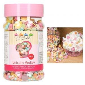 FunCakes Medley décors en sucre Licornes