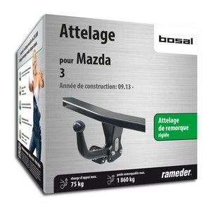 Bosal Attelage «col de cygne> démontable avec outils 040-211