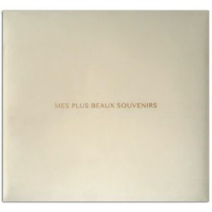 """Toga Album 30x30 Tissu Ivoire """"""""Mes Plus Beaux Souvenirs"""""""""""" - Monté avec 10 pochettes transparentes et 2 vis - Modulable."""